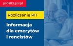 Ilustracja do informacji: Rozliczenie PIT - informacja dla emerytów i rencistów