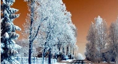 Ilustracja do informacji: Zimowe utrzymanie dróg krajowych i powiatowych