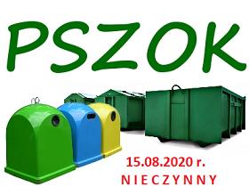 Ilustracja do informacji: 15.08.2020 r. Punkt Selektywnego Zbierania Odpadów Komunalnych w Świętajnie będzie nieczynny