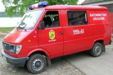 Ilustracja do informacji: Ogłoszenie o sprzedaży samochodu specjalnego - ratownictwo drogowe